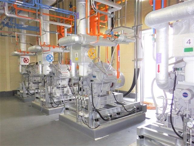 自然冷媒使用の超低温冷蔵庫